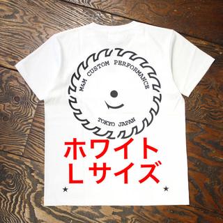 エムアンドエム(M&M)の【新品未使用】m&m custom performanceプリントT ホワイトL(Tシャツ/カットソー(半袖/袖なし))