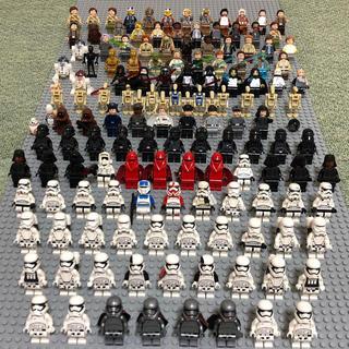 レゴ(Lego)のミニフィグ311体 パーツ37.5キロ レゴスターウォーズ レゴシティ等 (SF/ファンタジー/ホラー)