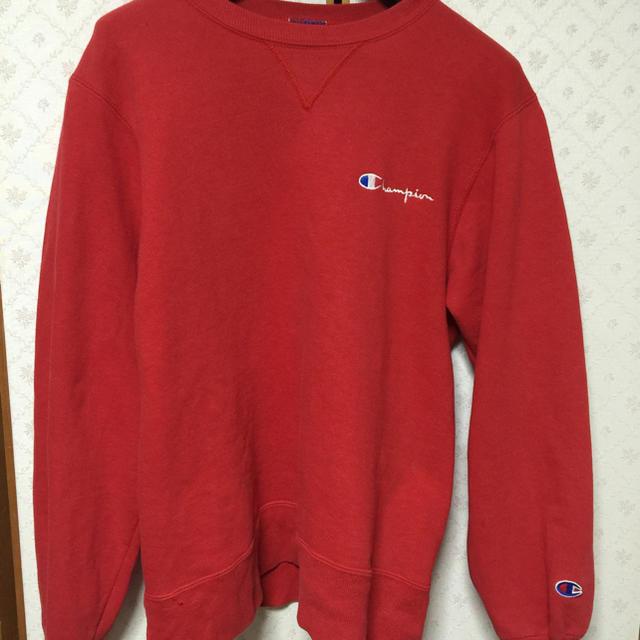 Champion(チャンピオン)のUSA赤 チャンピオン スゥエット メンズのトップス(スウェット)の商品写真