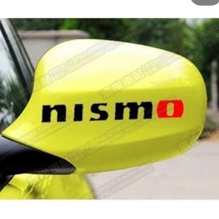 ニッサン(日産)のNISMO ニスモ 日産 黒文字 デカール ロゴ カッティングステッカー(車外アクセサリ)
