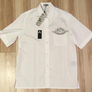 シュプリーム(Supreme)の人気白の最安値!AIR DIOR 半袖シャツ サイズ38(シャツ)