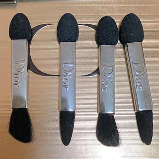 クリスチャンディオール(Christian Dior)のディオール アイシャドウチップ 4本 未使用品(ブラシ・チップ)