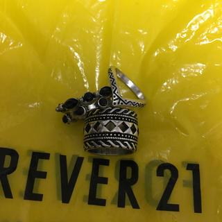 フォーエバートゥエンティーワン(FOREVER 21)の未使用送込forever21リングセット(リング(指輪))