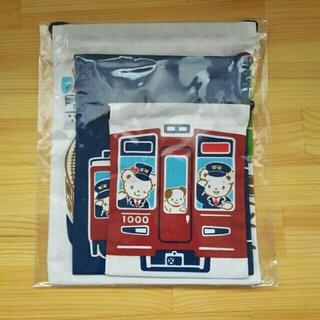 ファミリア(familiar)の★M様専用✩【新品未使用】ファミリア×阪急電鉄コラボ 巾着袋(大中小)セット(ランチボックス巾着)