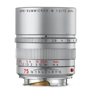 ライカ(LEICA)の【レア】Leica アポズミクロン M75mm F2.0 ASPH. シルバー(レンズ(単焦点))