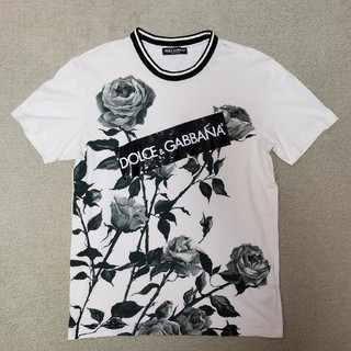 ドルチェアンドガッバーナ(DOLCE&GABBANA)の正規品DOLCE&GABBANAドルチェ&ガッバーナTシャツ46(Tシャツ/カットソー(半袖/袖なし))