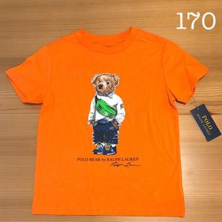 ポロラルフローレン(POLO RALPH LAUREN)のラルフローレン ファニーパックベア コットンT オレンジ XL/170(Tシャツ/カットソー)