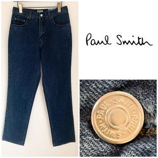 ポールスミス(Paul Smith)の希少 ビンテージ ポールスミス ウォッシュドデニム インディゴ 31 UK製(デニム/ジーンズ)