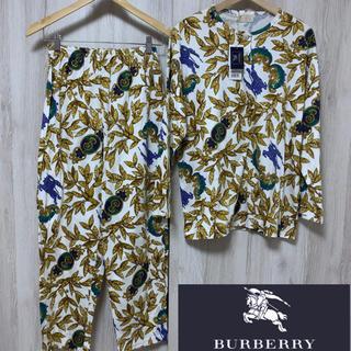 バーバリー(BURBERRY)の◼️未使用 タグ付◼️ バーバリーズ Burberry's  総柄 パジャマ(シャツ/ブラウス(長袖/七分))