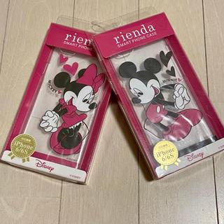 リエンダ(rienda)のrienda♡ミッキー&ミニーiPhoneケース(iPhoneケース)
