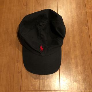 ポロラルフローレン(POLO RALPH LAUREN)のPOLO ラルフローレン キャップ 黒 ブラック(キャップ)