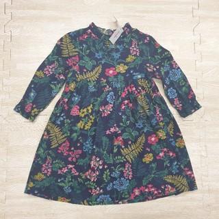 キャスキッドソン(Cath Kidston)のキャスキッドソン 花柄 長袖ワンピース 1-2歳 子供服(ワンピース)