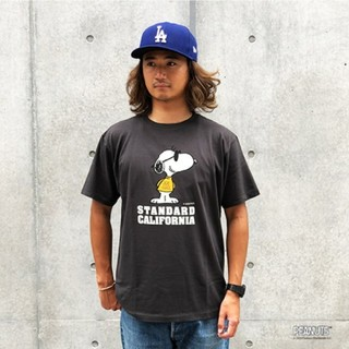 スタンダードカリフォルニア(STANDARD CALIFORNIA)の【わったん様専用】SNOOPY × SD Joe Cool Tシャツ(Tシャツ(半袖/袖なし))
