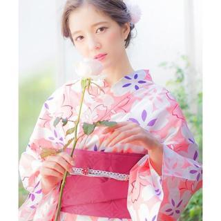 ❀Jリーグ浴衣女子/浴衣コーデ/セレ女/セレッソ/桜色❀(浴衣)