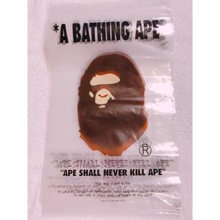 アベイシングエイプ(A BATHING APE)のA  BATHING  APE ショッパー ジップ袋 ジッパー付き 7枚(ショップ袋)