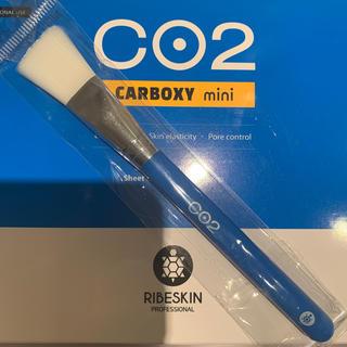 新品未使用 カーボキシー 炭酸ガスマスク 筆のみ(パック/フェイスマスク)