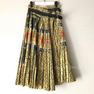 サカイ(sacai)の♡サカイ×ペンドルトン♡2019SS♡プリーツラップスカート♡(ロングスカート)