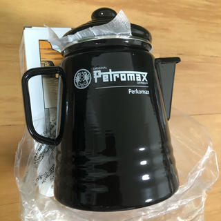 ペトロマックス(Petromax)の値下【新品未使用】 ペトロマックス Petromax 廃盤品 パーコマックス 黒(調理器具)