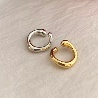 TODAYFUL - simple イヤーカフ♡silver gold