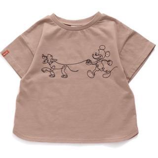 BREEZE - BREEZE❤︎mickey横顔Tシャツ130