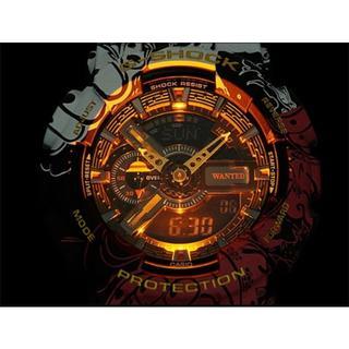 カシオ(CASIO)のONE PIECE G-SHOCK GA-110JOP-1A4JR(腕時計(デジタル))
