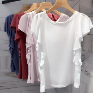 ココディール(COCO DEAL)のココディール   フリルスリーブTシャツ♡(Tシャツ(半袖/袖なし))