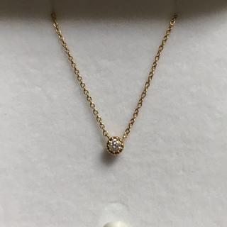 スタージュエリー(STAR JEWELRY)のスタージュエリー フラワーセッティング  ダイヤモンド ネックレス(ネックレス)