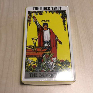 The Rider Tarot Deck(洋書)