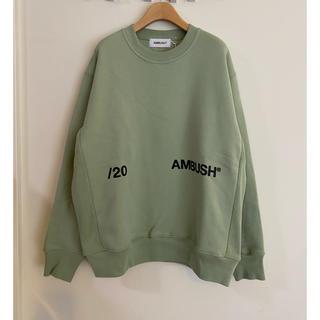 アンブッシュ(AMBUSH)のambush スウェット 3 20ss(スウェット)