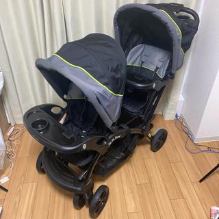 ベビートレンド(Baby Trend)のベビートレンド シット&スタンド ダブル ピスタチオ ベビーカー(ベビーカー/バギー)