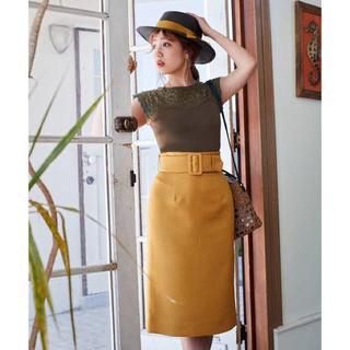31 Sons de mode - トランテアンベルト付きタイトスカート