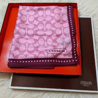 コーチ(COACH)のCoach Scarf CA22608(バンダナ/スカーフ)