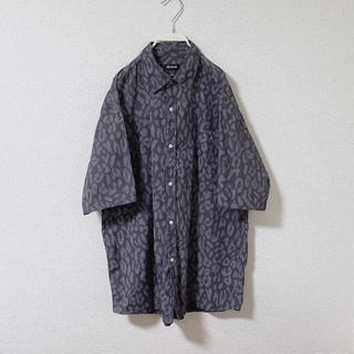 BEAUTY&YOUTH UNITED ARROWS - used leopard shirt