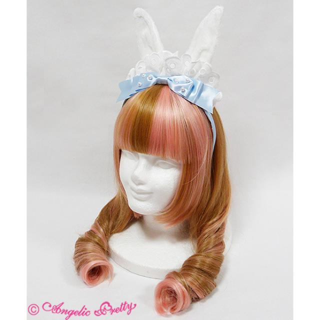 Angelic Pretty(アンジェリックプリティー)の Angelicpretty Fantastic Bunny メイドカチューシャ レディースのヘアアクセサリー(カチューシャ)の商品写真