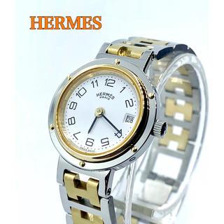 Hermes - 美品 HERMES エルメス クリッパー クォーツ レディース腕時計 付属品あり