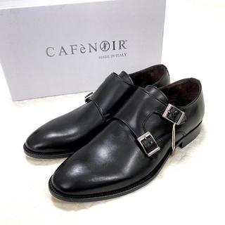 REGAL - 【新品】カフェノアール 革靴 レザーソール イタリア製 ビジネス 26cm 黒
