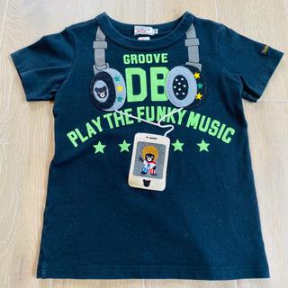 ダブルビー(DOUBLE.B)のミキハウス ダブルビー ヘッドフォン だまし絵 Tシャツ 100(Tシャツ/カットソー)