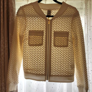 ミッチェルアンドネス(MITCHELL & NESS)のジャケットカーディガン(カーディガン)