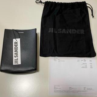 ジルサンダー(Jil Sander)の正規未使用品 JIL SANDER tangle タングル ブラック スモール(ショルダーバッグ)