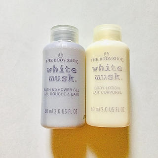 THE BODY SHOP - THE BODY SHOP white musk ボディーソープ&ローション