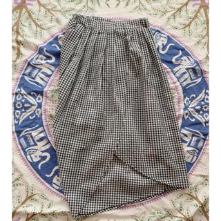 アンティカ(antiqua)のantiqua  アンティカ変形スカート (ひざ丈スカート)