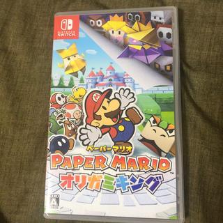 ニンテンドウ(任天堂)のペーパーマリオ オリガミキング Switch(家庭用ゲームソフト)