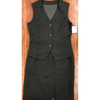 事務服ベストスーツ セットアップ  7号 ウォッシャブル 抗菌消臭 リクルート(スーツ)