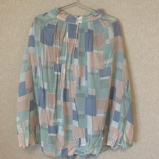 エヘカソポ(ehka sopo)のehka sopo 幾何学模様スカート(ひざ丈スカート)