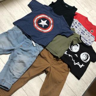 ユニクロ(UNIQLO)の男の子服 12-18ヶ月 まとめ売り✩.* (Tシャツ)