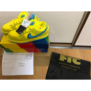 ナイキ(NIKE)のNike SB Dunk Low Grateful Dead Yellow ②(スニーカー)