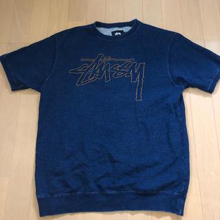 ステューシー(STUSSY)のSTUSSYデニムトップス(Tシャツ/カットソー(半袖/袖なし))