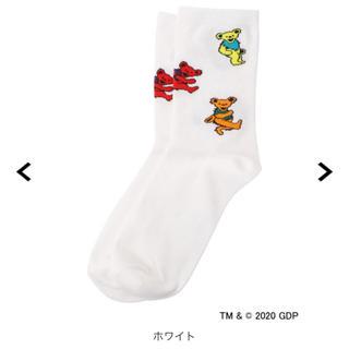 X-girl - X-girl エックスガール GRATEFULDEAD 靴下 ソックス