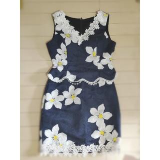 デイジーストア(dazzy store)の花柄♡ネイビー♡セットアップ♡ミニドレス(ミニドレス)