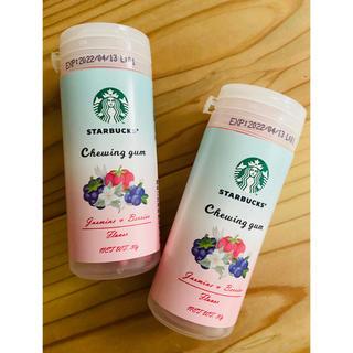 スターバックスコーヒー(Starbucks Coffee)の台湾 スターバックス ジャスミンベリー ガム2点セット(日用品/生活雑貨)
